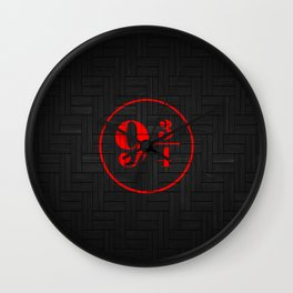 platfrom on the wall Wall Clock