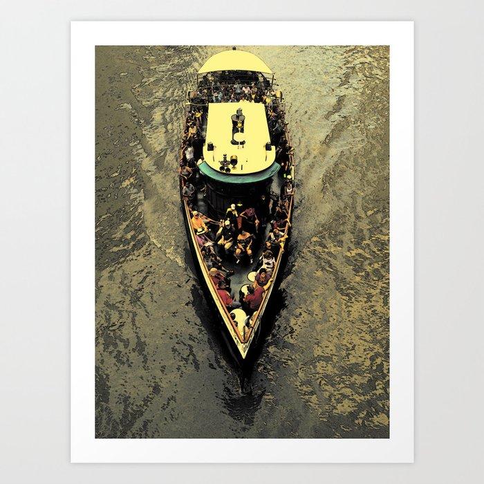 The Boat Ride Art Print