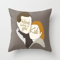 casablanca Throw Pillows featuring Casablanca by Swell Dame