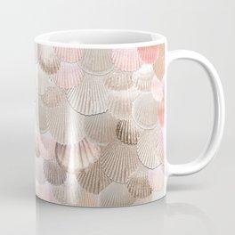 MERMAID SHELLS - CORAL ROSEGOLD Coffee Mug