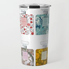 Perfumes pattern Travel Mug