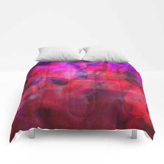 Burgundy Comforters