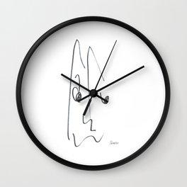 Demeter Moji d7 3-3 w Wall Clock