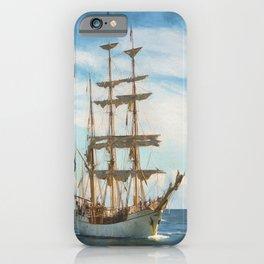 Sailing Grace iPhone Case