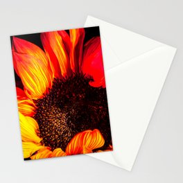 Burst of flames Stationery Cards