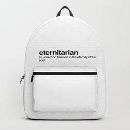etenitarian Backpack