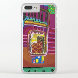 Stairs up to the Attic 1999 Clear iPhone Case