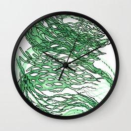 lettuce lattice Wall Clock