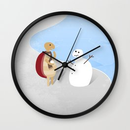 Snowturtle Wall Clock
