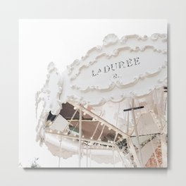 Laduree Metal Print