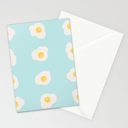 omelette seamless pattern Stationery Cards