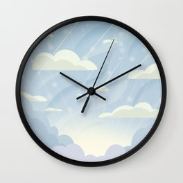 Winter Morning Wall Clock