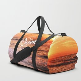 The Voice of the Ocean Duffle Bag