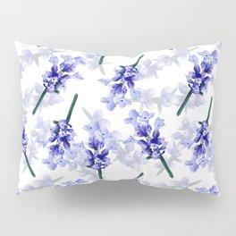 Hand painted lavender flower bloom Pillow Sham