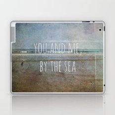 You and me, by the sea Laptop & iPad Skin