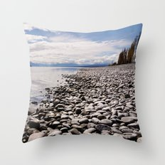 Lake Te Anau Throw Pillow
