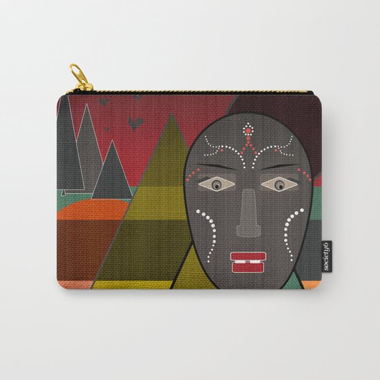 Africa . Carry-All Pouch