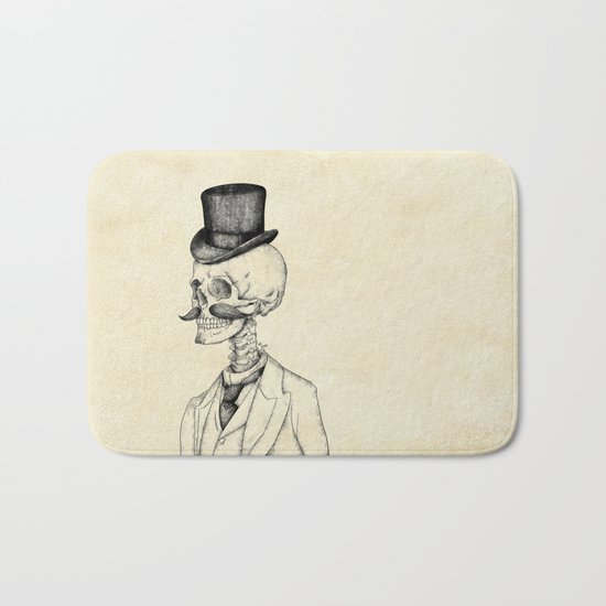 Old Gentleman  Bath Mat