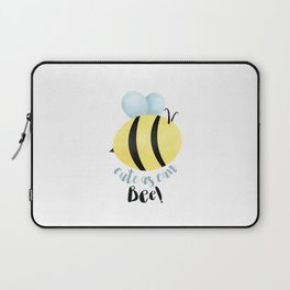 Cute As Can Bee! Laptop Sleeve