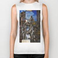roman Biker Tanks featuring Roman Impression  by CAPTAINSILVA