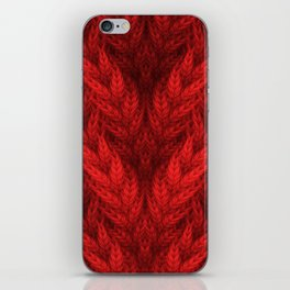 Cable Knit iPhone Skin