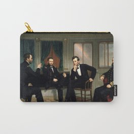 The Peacemakers -- Civil War Union Leaders Carry-All Pouch