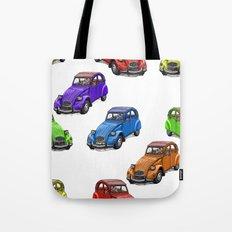 2cv pattern big Tote Bag