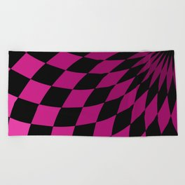 Wonderland Floor #3 Beach Towel