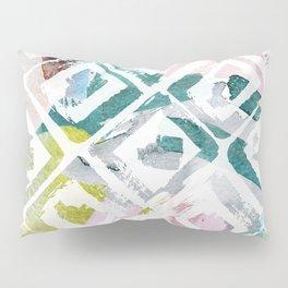 Awash | Colorful Geometric Print Pillow Sham