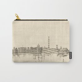Washington DC Skyline Sheet Music Cityscape Carry-All Pouch