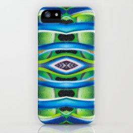 Abstract graffiti  5 iPhone Case