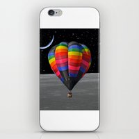 balloon iPhone & iPod Skins featuring Balloon by Cs025