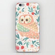 Little Pink Owl iPhone & iPod Skin