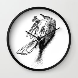 life is a series of lessons we learn the hard way Wall Clock