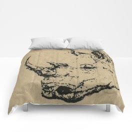 Burlap Rhino Comforters
