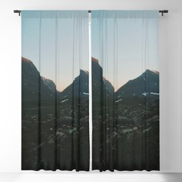 The Mountains Of Lapland  Blackout Curtain