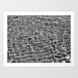 Sand Underfoot. Art Print