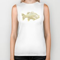 goldfish Biker Tanks featuring goldfish by EnglishRose23