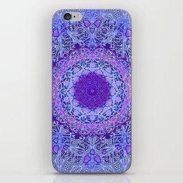 Wisteria Mandala iPhone Skin