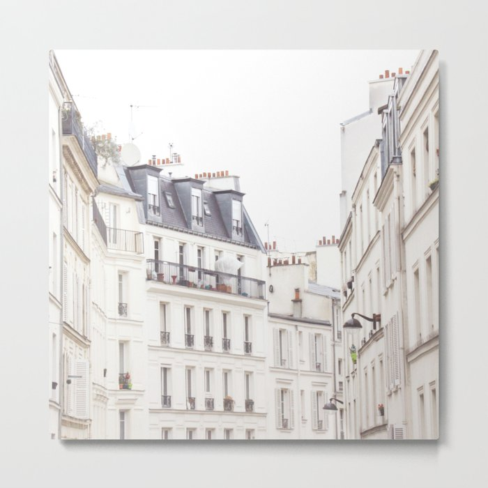 Slightly Paris Metal Print