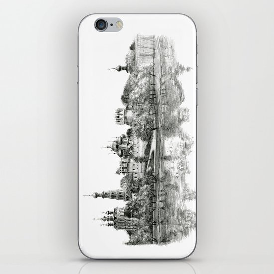 Novodevichy Convent G2010-005 iPhone & iPod Skin
