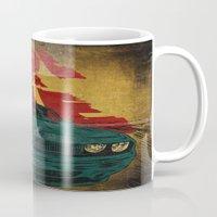 marauders Mugs featuring MEKANO TURBO/ride or die poster by alexis ziritt