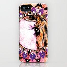 Giraffe Manor iPhone Case