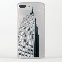 New York City 002 Clear iPhone Case