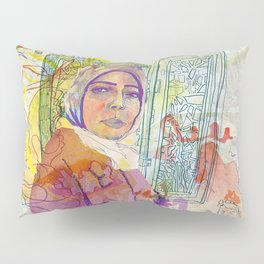 Rights for Immigrants Pillow Sham