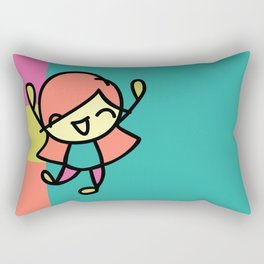 Silly Sally Rectangular Pillow