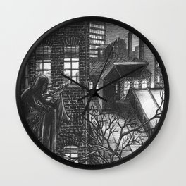 The last washed Wall Clock