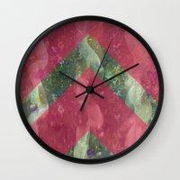 klimt Wall Clocks featuring klimt by littlehomesteadco