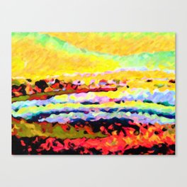 Edgeland Urban Chaos Canvas Print