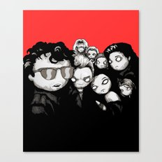 Lost Plushies Canvas Print